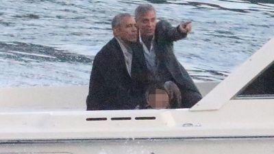 Barack Obama in gita a Cernobbio