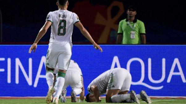 L'Algérie lancée par Baghdad Bounedjah a dominé le Kenya pour son entrrée dans la CAN-2019, le 23 juin au Caire