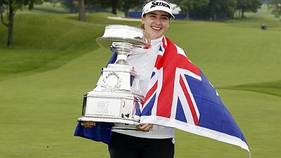 Aussie Green makes first LPGA win a major at Women's PGA