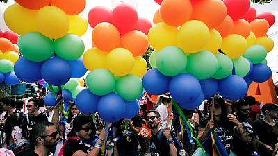 Thousands in Costa Rica celebrate in first pride march since gay marriage ruling