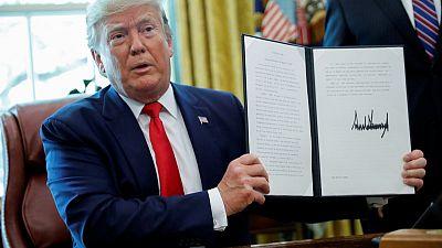 Trump imposes new U.S. sanctions on Iran, including supreme leader