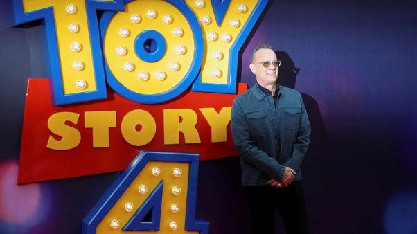"""مصحح-الجزء الرابع من """"حكاية لعبة"""" يتصدر إيرادات السينما في أمريكا الشمالية"""