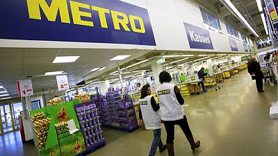 Shares in German wholesaler Metro jump after takeover offer