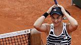 Tennis, Barty nuova regina del ranking
