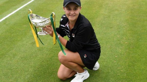 L'Australienne Ashleigh Barty s'empare de la place de N.1 mondiale au classement WTA grâce à sa victoire sur le gazon de Birmingham, le 23 juin 2019