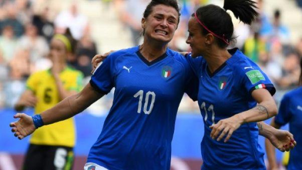 """Mondial-2019: le """"Bloc Juve"""", noyau dur de l'Italie"""