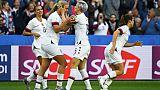 Les Américaines restent sur une victoire facile contre la Suède en match de poules, le 20 juin 2019 au stade Océane du Havre
