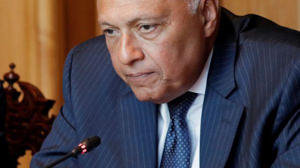 """وزير الخارجية المصري: سنذهب إلى البحرين """"لتقييم"""" خطة كوشنر"""