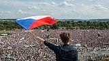 Manifestation géante à Prague le 23 juin 2019, pour réclamer la démission du Premier ministre Andrej Babis