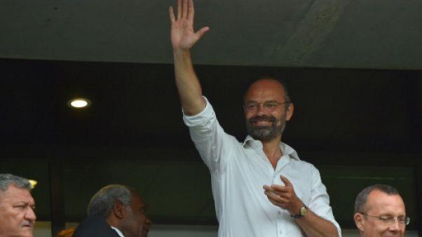 Le Premier ministre Edouard Philippe lors du match entre la France et le Brésil, le 23 juin 2019 au stade du Havre