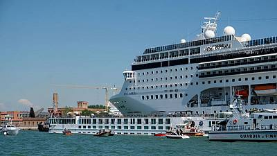 Venice must be put on UN danger list, ban cruise ships - conservationists