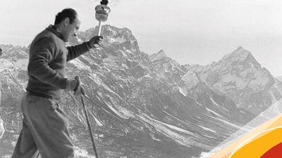 Cortina,campane a festa e Inno d'Italia