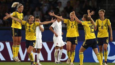 Mondiali donne: la Svezia vola ai quarti