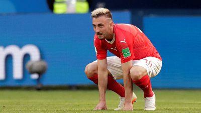 Premier League newcomers Norwich sign Swiss striker Drmic