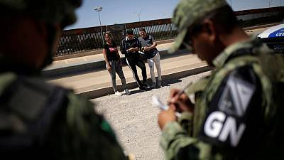 Mexico says it has deployed 15,000 forces in the north to halt U.S.-bound migration