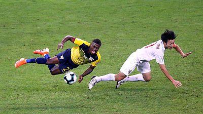 Ecuador's draw with Japan send Paraguay into quarters