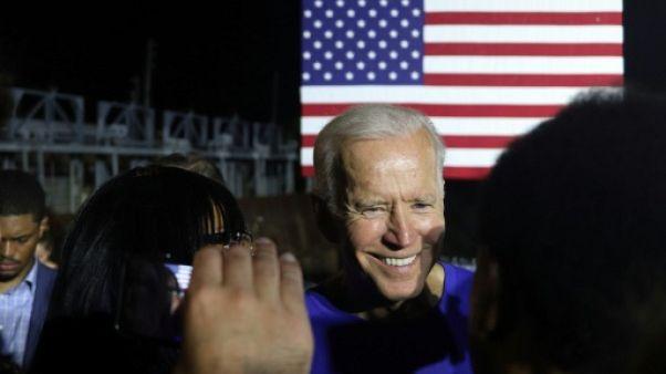 Le candidat démocrate à la Maison Blanche Joe Biden à Columbia, en Caroline du Sud, le 21 juin 2019
