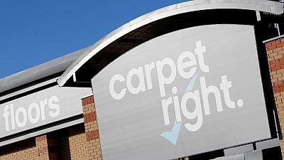 UK's Carpetright returns to underlying sales growth