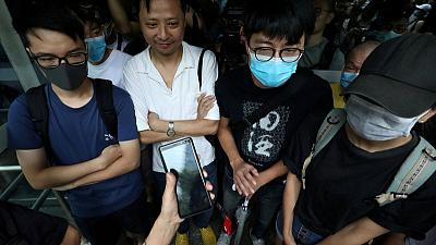 Hong Kong activists crowdfund for anti-extradition bill voice at G20