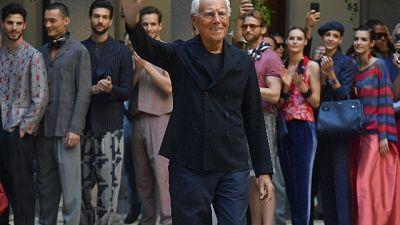 Armani, felice per Milano olimpica