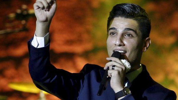 الفلسطيني محمد عساف يسجل حضوره الثاني في مهرجان موازين