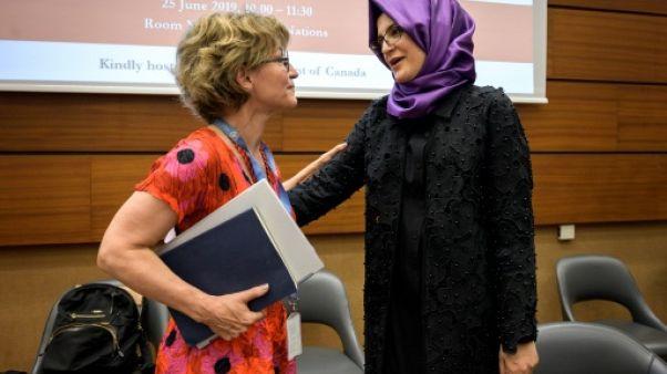 """Pour la fiancée de Khashoggi, il y a un besoin """"urgent"""" d'une enquête internationale"""