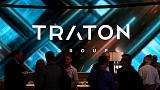 Traton trading at mid-point of IPO range in grey market