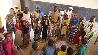 La MINUSMA appuie les élèves de l'école fondamentale du quartier Aliou de Kidal