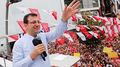 New Istanbul mayor's star power could be a challenge for Erdogan