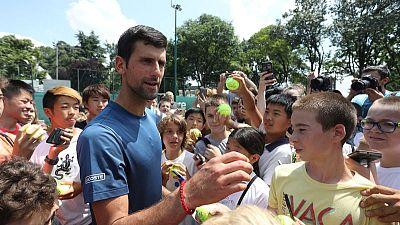 Djokovic impresses as gets back in grasscourt groove