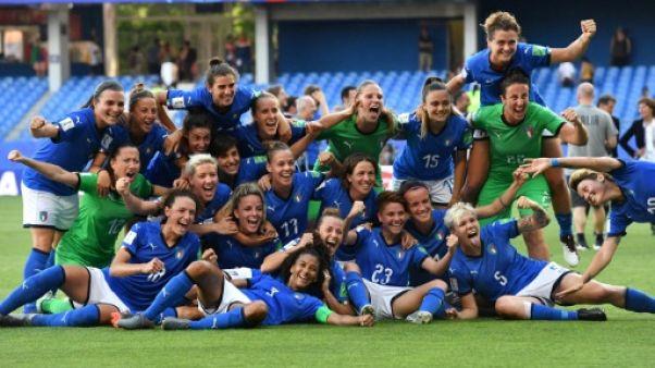L'Italie se qualifie pour les quarts de finale du Mondial le 25 juin 2019