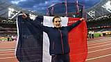 La Française Mélina Robert-Michon médaille de bronze aux championnats du monde le 13 juin 2017 à Londres