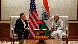 Pompeo meets India PM Modi for talks on trade, defence