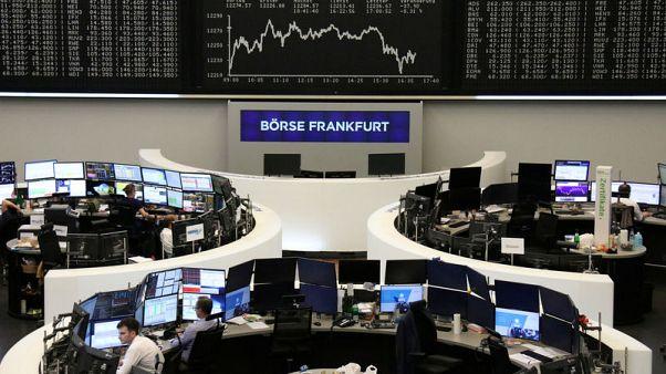 انخفاض أسهم أوروبا بعد تصريحات رئيس المركزي الأمريكي