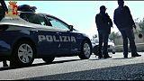 Minacce con coltello su autobus,arresto
