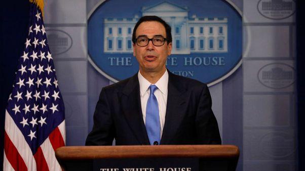 مصحح-سي.إن.بي.سي: منوتشين يقول أمريكا والصين كانتا على وشك إبرام اتفاق تجاري
