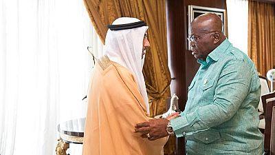 Ghana President receives UAE official