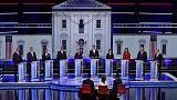 U.S. Democrats defend policies to reshape economy as first debate gets under way