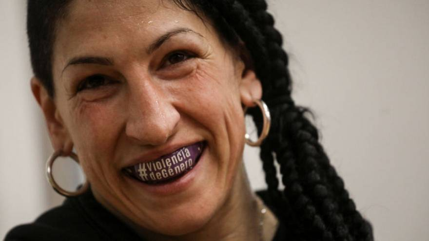'No regrets', says Spanish boxer-politician fighting gender violence