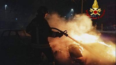 Attentato incendiario depuratore Olbia