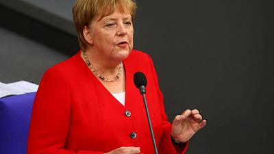 Merkel: We stand by the 'Spitzenkandidat' system, but it's complicated