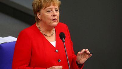 Glyphosate use will eventually end, Merkel says