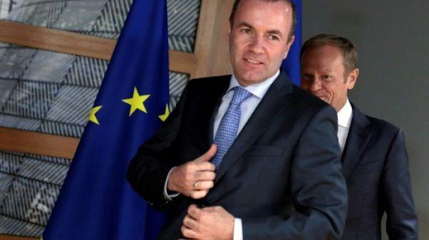 """""""Top job"""" à Bruxelles: la droite à la manoeuvre pour sauver son champion allemand"""