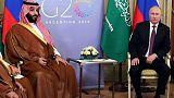 بوتين وولي العهد السعودي يناقشان قضايا الطاقة في قمة العشرين