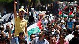 الفلسطينيون يرفضون خطة أمريكا للسلام وكوشنر يلتزم الصمت بشأن الشق السياسي