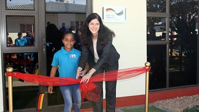 German Embassy inaugurates newly equipped therapy room in learning center for impaired children