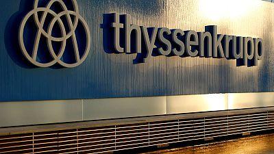 Thyssenkrupp sticks to elevator listing plan amid bid talk