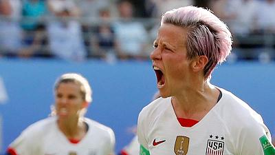 Trump criticises Rapinoe for spurning potential White House invite