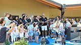 Sisma, scuola donata Fondazione Bocelli