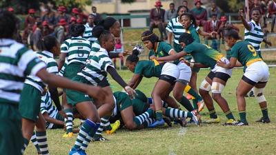 Rugby - South Africa: Under-20 Women lead 1-0 against Zimbabwe